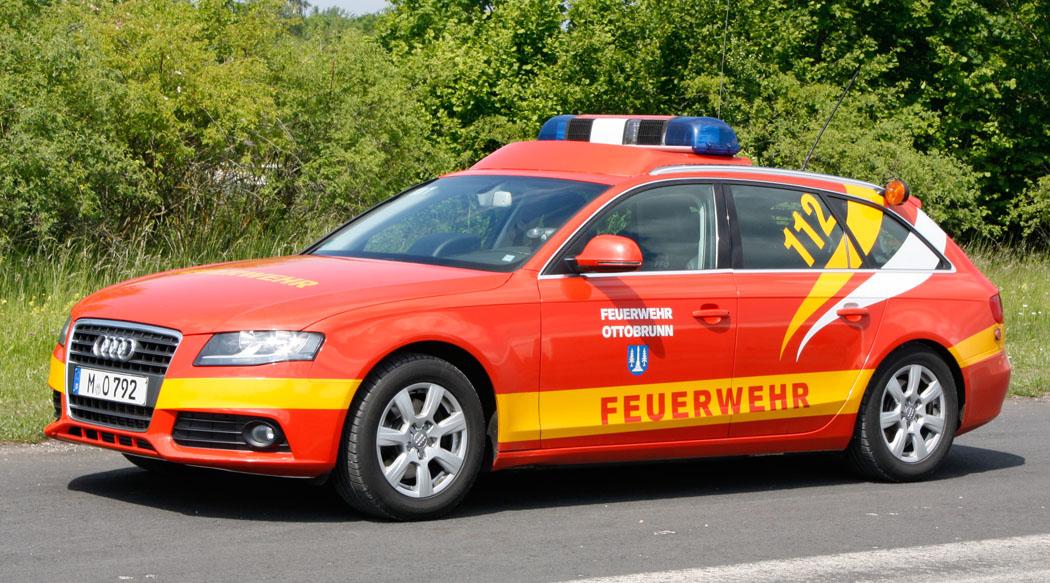 Kommandowagen Kdow der Feuerwehr Ottobrunn.